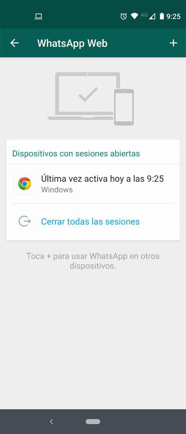 ¿Cómo saber si alguien más usa mi Código QR para conectarse a WhatsAppWeb?