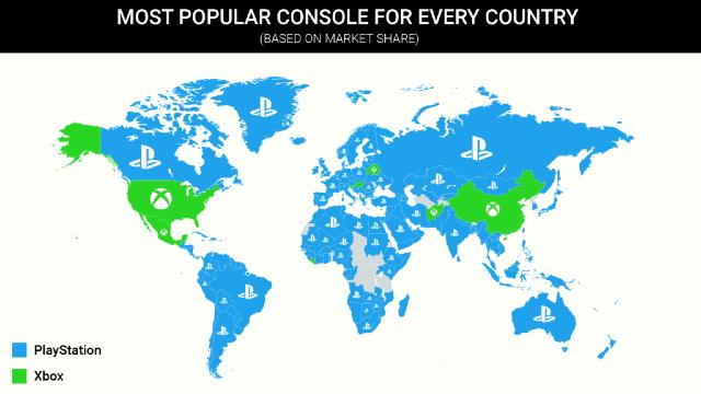 Xbox Series X S es más popular que PlayStation 5