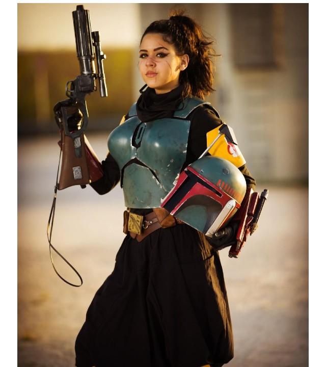 Star Wars: Cosplayer trae a la vida a Boba Fett con esta versión más femenina