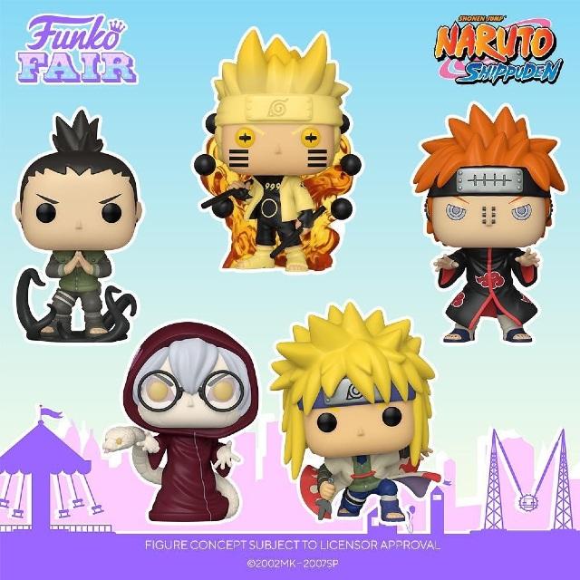 Naruto, Funko Fair 2021
