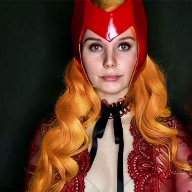 Cosplay Wanda la Bruja Escarlata