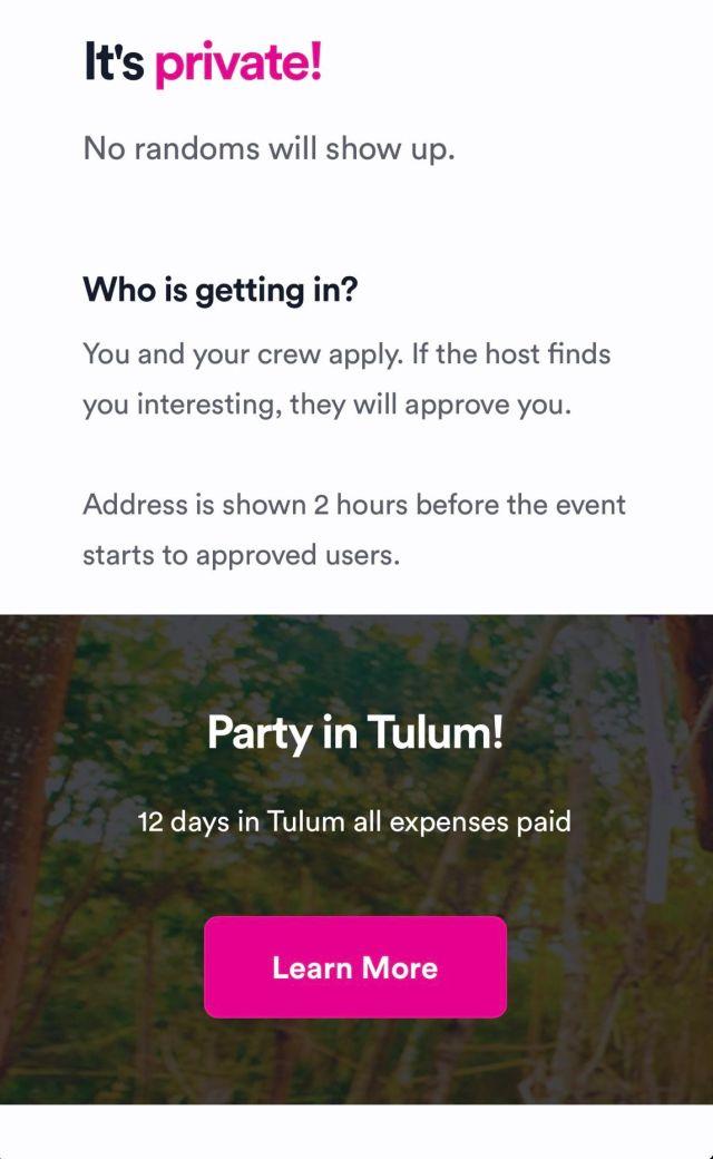 vybe app fiestas