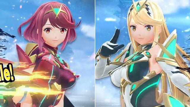 ¡Pyra y Mythra serán las nuevas peleadoras de Super Smash Bros. Ultimate!
