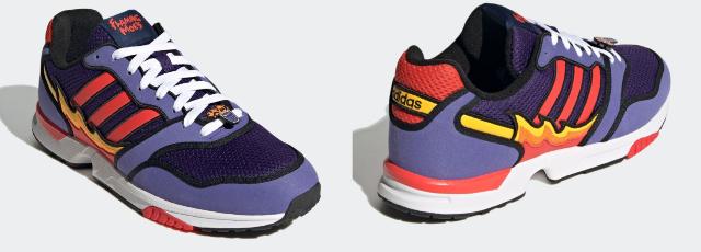 Adidas lanzará los tenis inspirados en Flaming Moe's