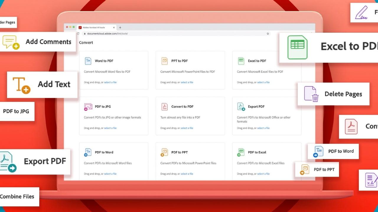 Adobe lanza su servicio de herramientas gratuitas para PDF