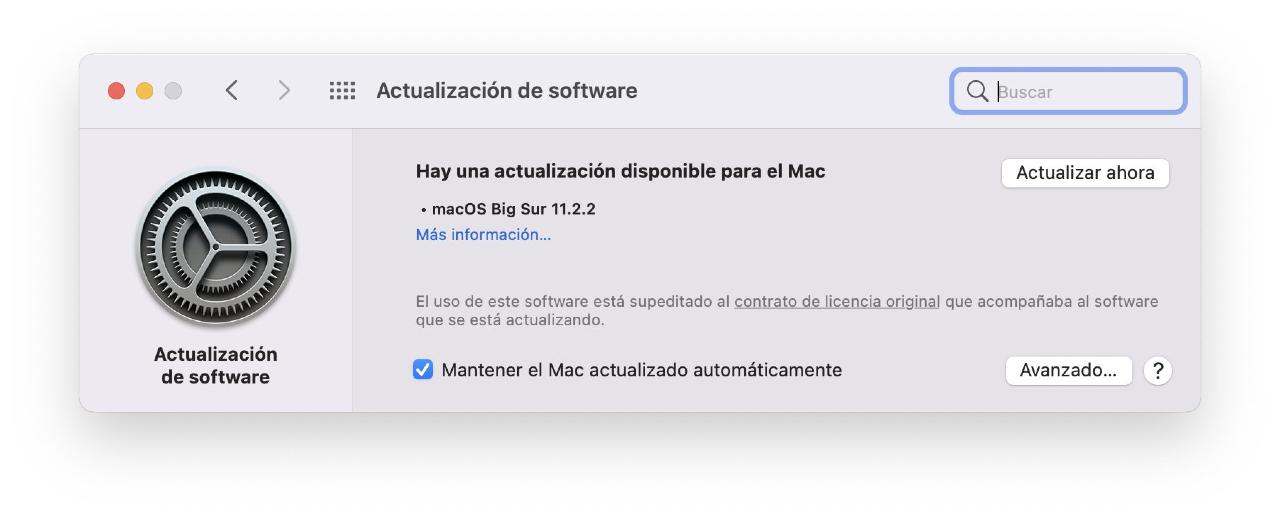 Apple lanza nueva actualización de macOS Big Sur