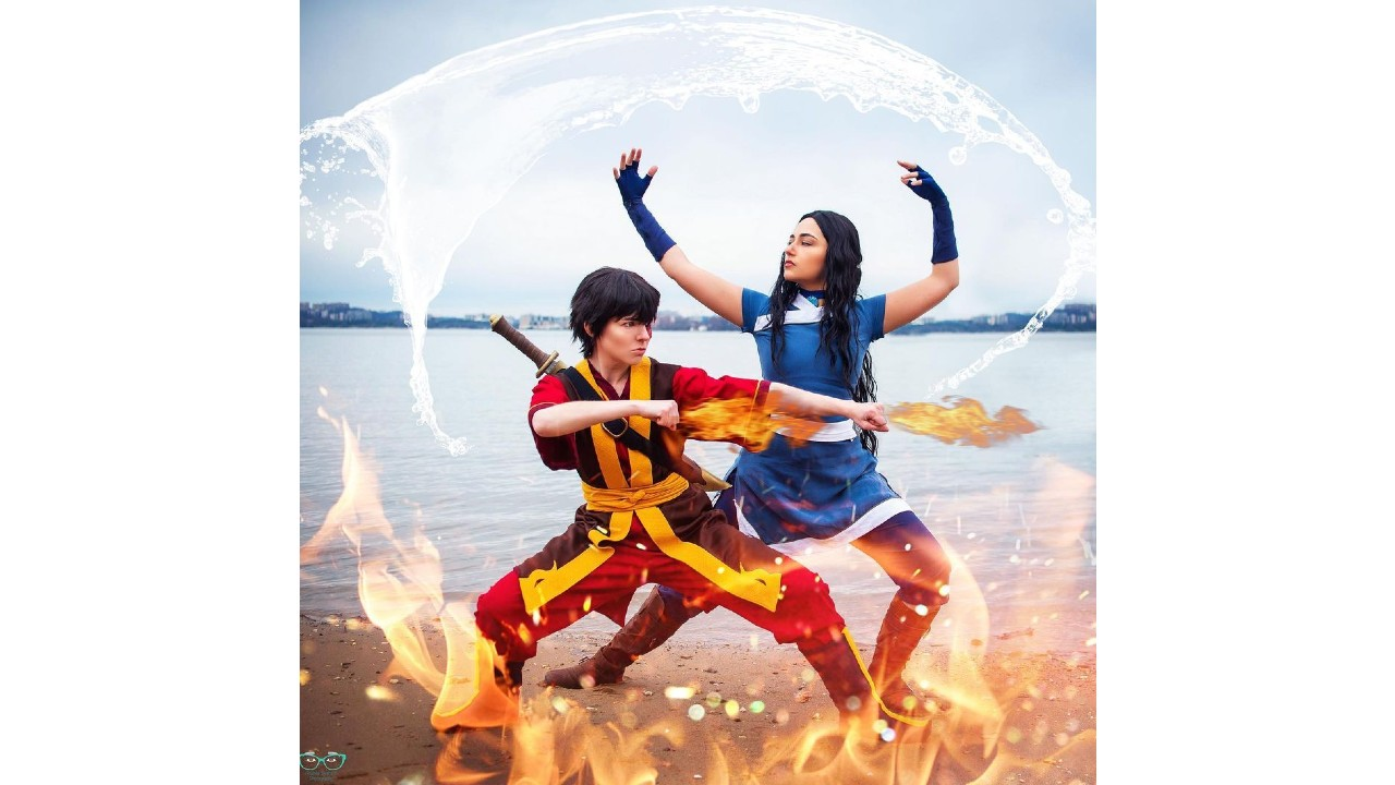 Avatar: La pareja de Katara y Suko se vuelve realidad gracias a este sorprendente cosplay