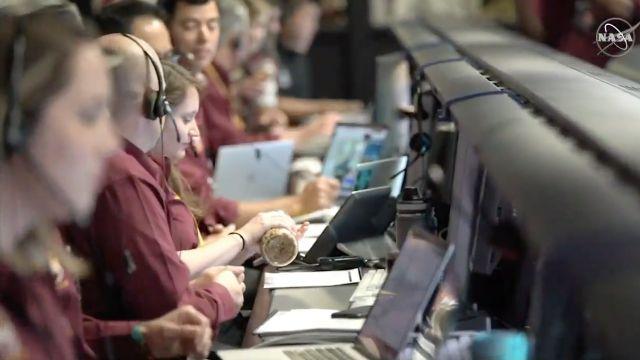Cacahuates en la NASA