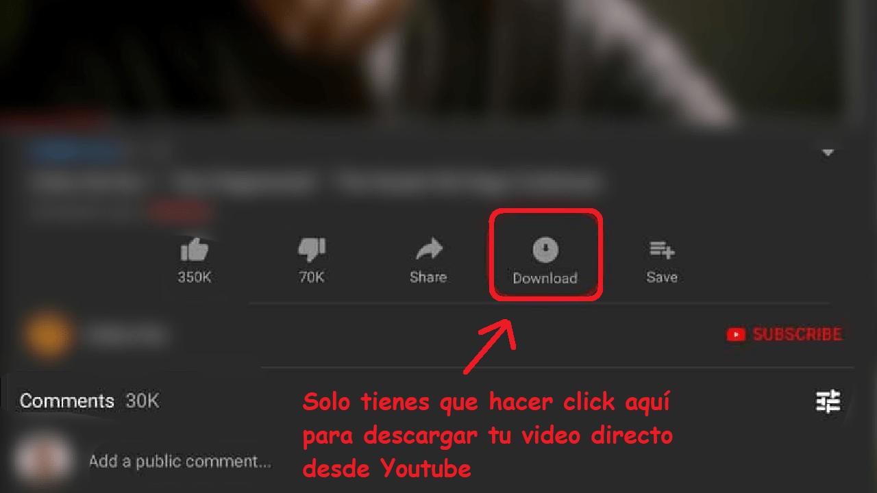 youtube premium descargar videos directamente