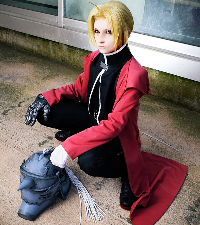 cosplay disfraz full metal alchemist