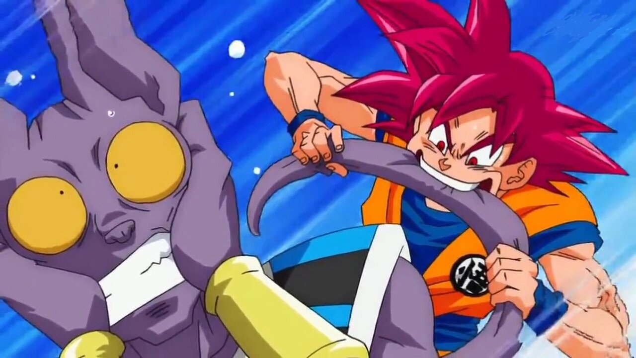 bills goku combate dragon ball