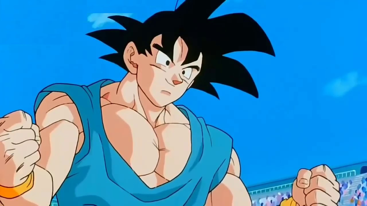 goku dragon ball gt goku traje azul