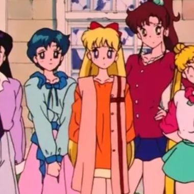 Fan Art imagina a las Sailor Scouts como pilotos de un enorme robot