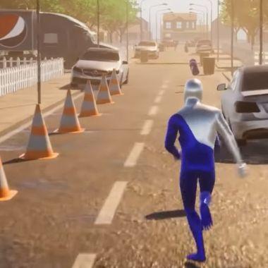 Fan crea un remake de Pepsiman con tecnología de NVIDIA