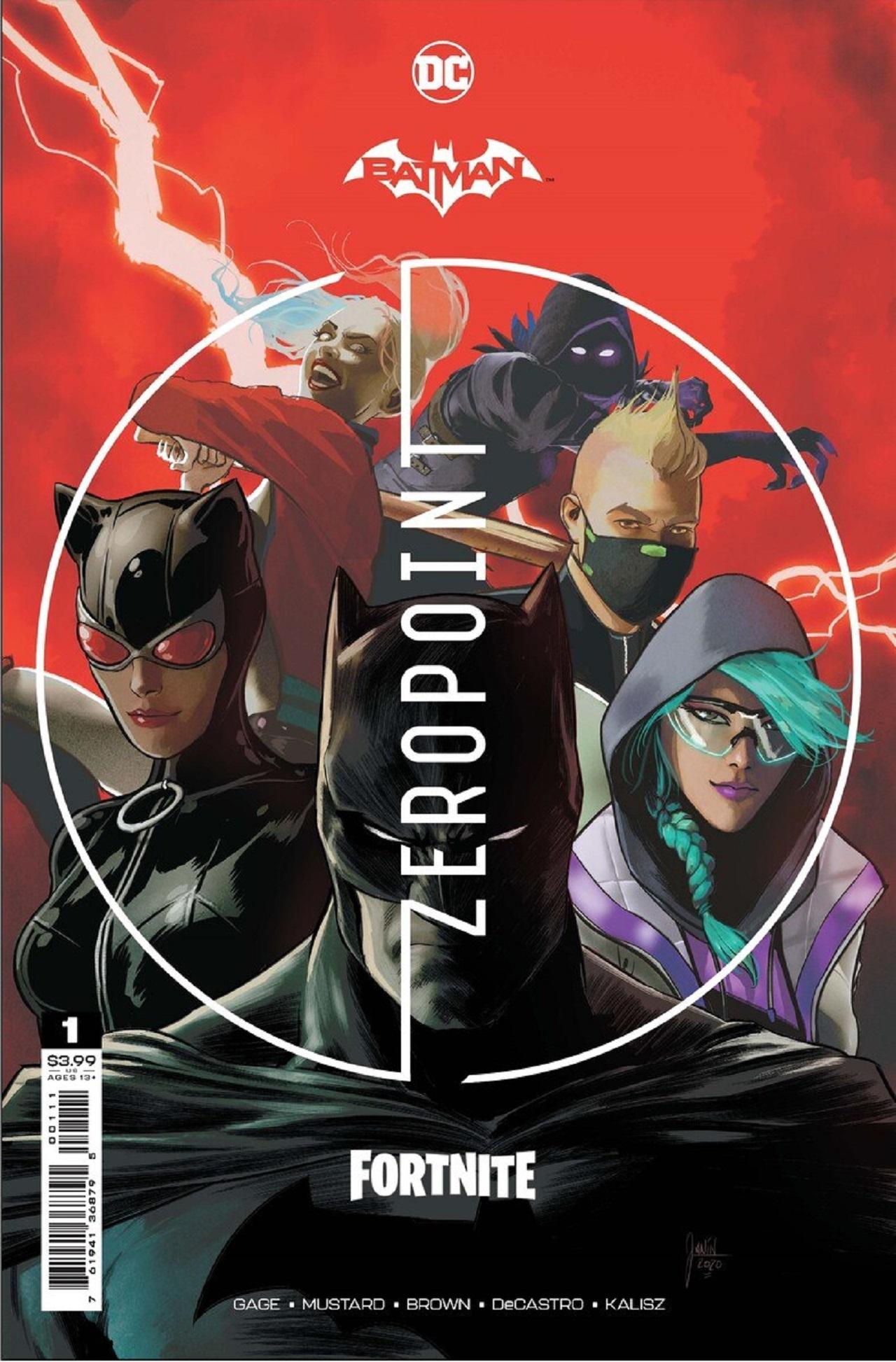 Fortnite y DC lanzarán un cómic de Batman