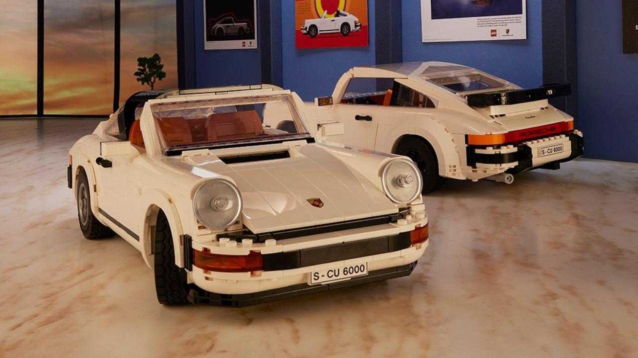 LEGO lanza su set de Porsche 911 dos en uno