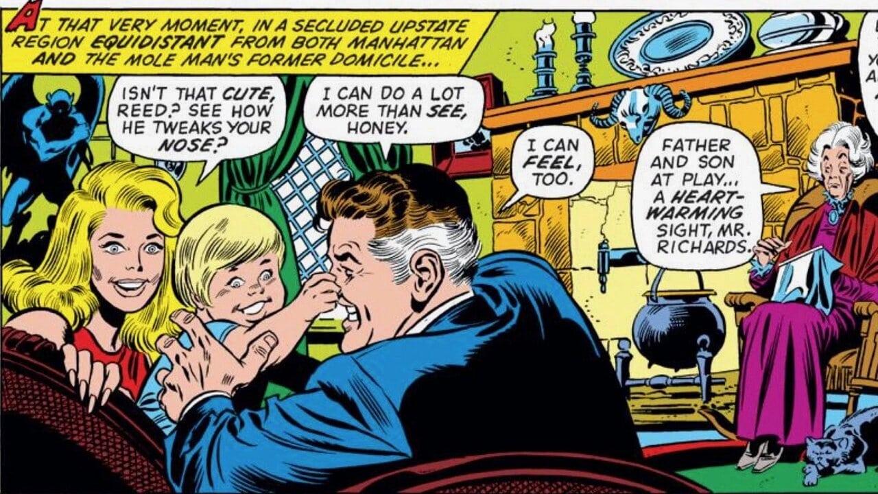 agatha harkness franklin richards marvel comics