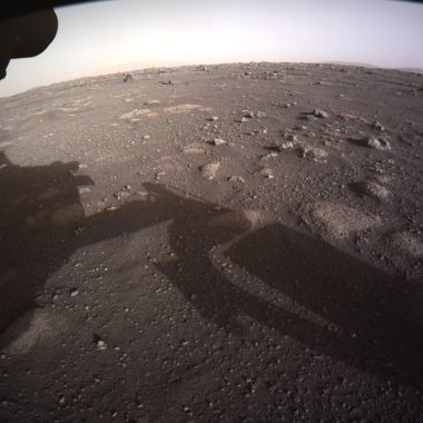 NASA compartió imágenes de la llegada del Perseverance