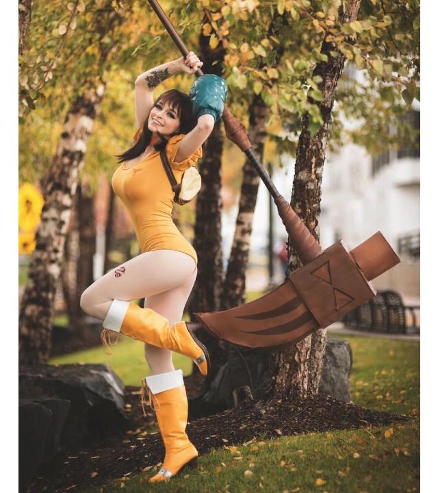 Nanatsu no Taizai: Cosplayer recrea a Diane con un traje de alto impacto