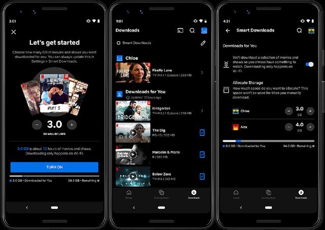 Netflix estrena función de descargas automáticas