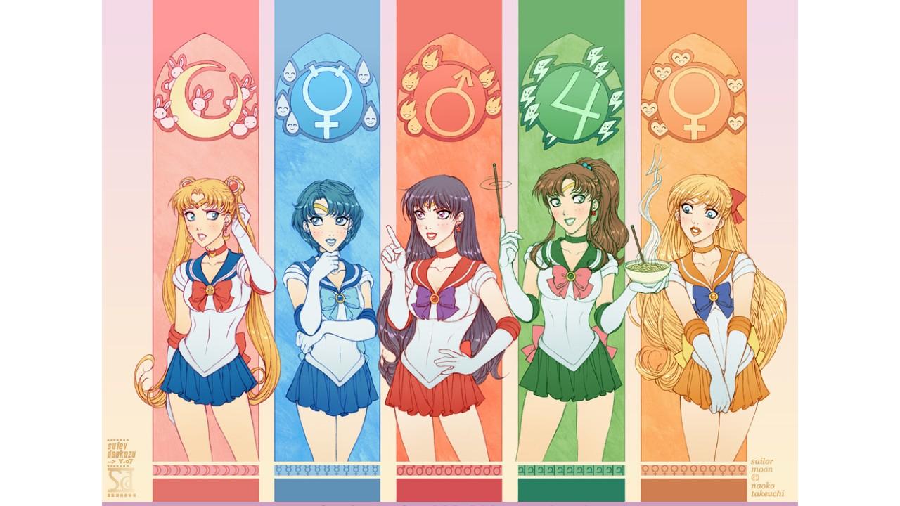 Sailor Moon: Artista crea un asombroso fan art dándoles un nuevo vistazo a las Sailor Scouts