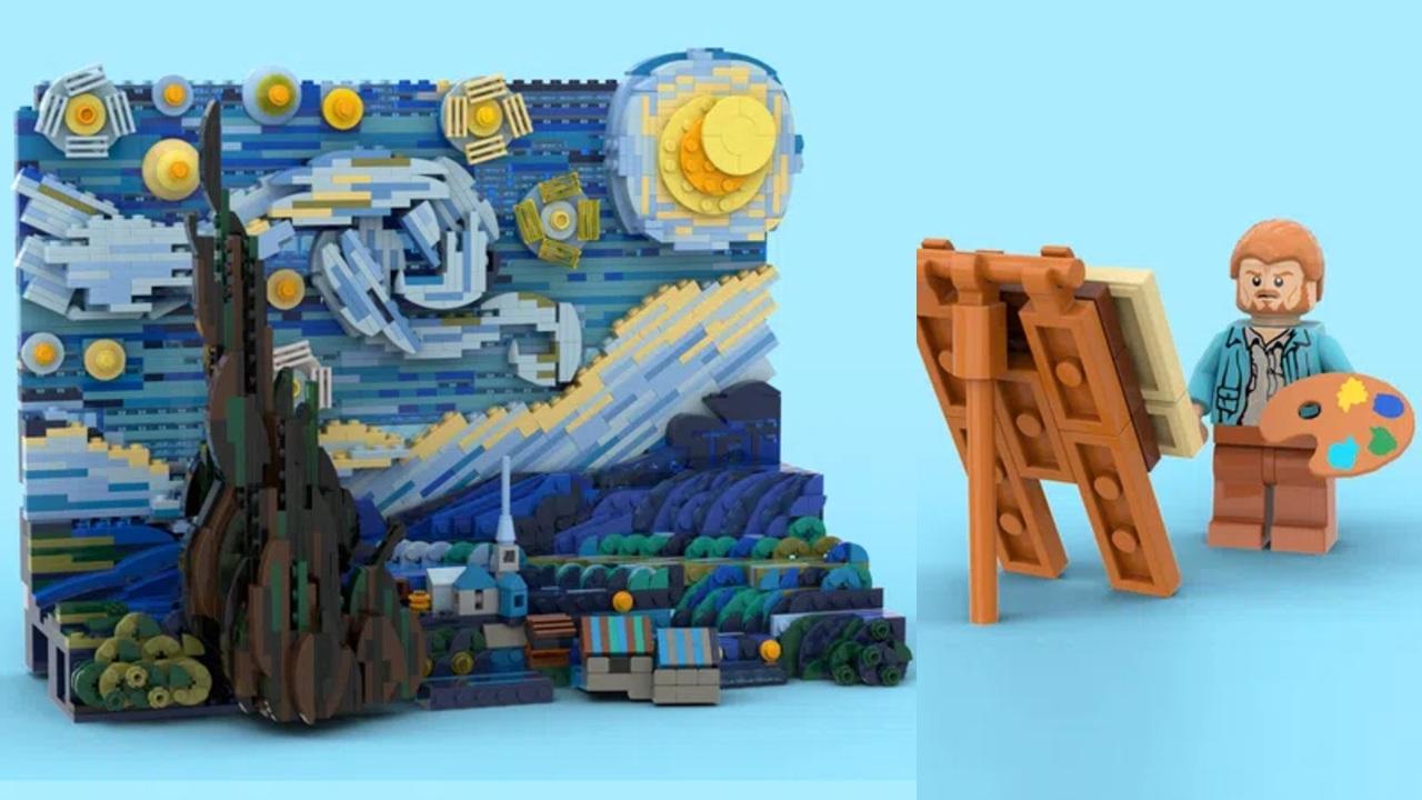 LEGO lanzará un set inspirado en la obra de Van Gogh