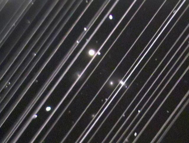 Starlink afecta a los observatorios