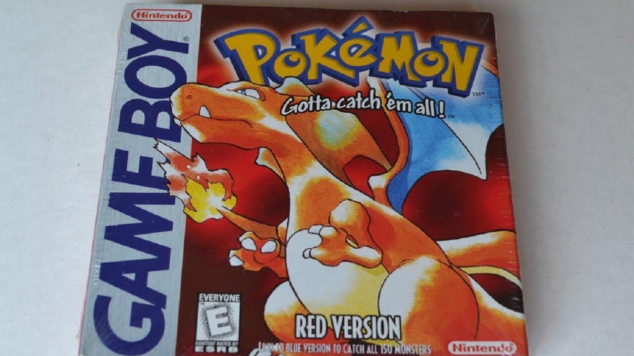 pokémon red version precio cartucho