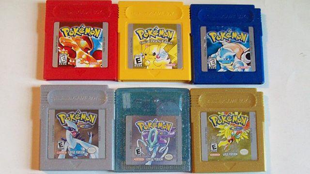 cartuchos viejos pokémon precio objeto colección
