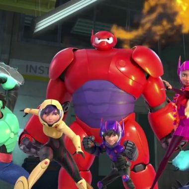 big hero 6 personajes