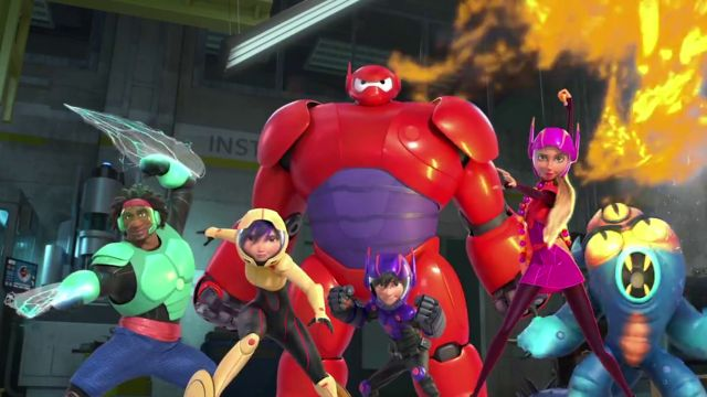 big hero 6 personajes