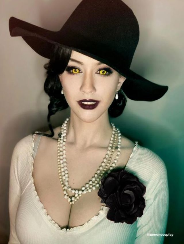 lady dimistrescu resident evil cosplay