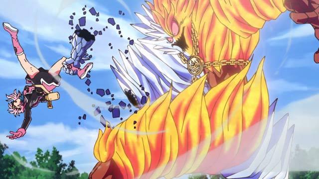En el episodio 19 de Las Aventuras de Fly, nuestro héroe logra ejecutar la técnica más poderosa de la espada de Aván