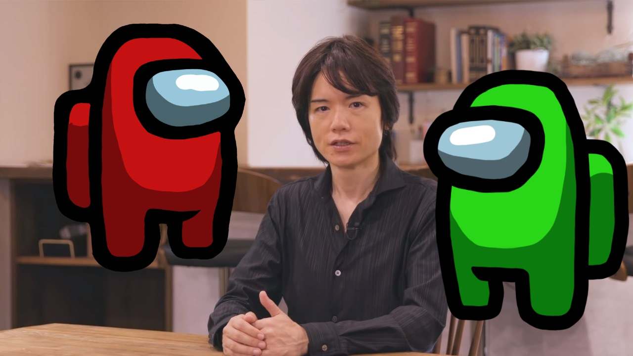 Among Us Masahiro Sakurai