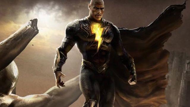 Dwayne Johnson como Black Adam la proxima pelicula de DC Comics