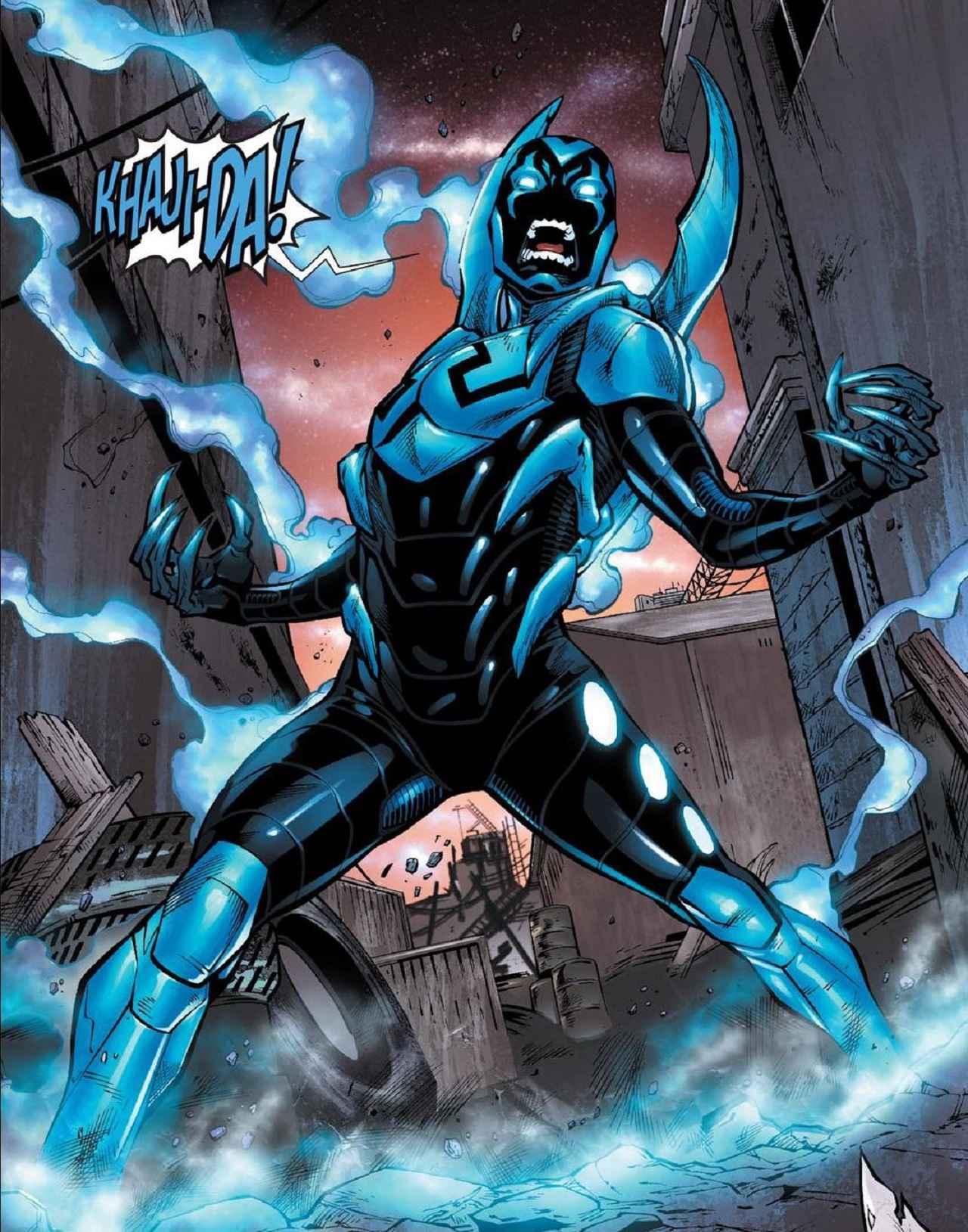 Jaime Reyes el Blue Beetle de DC Comics tendrá película