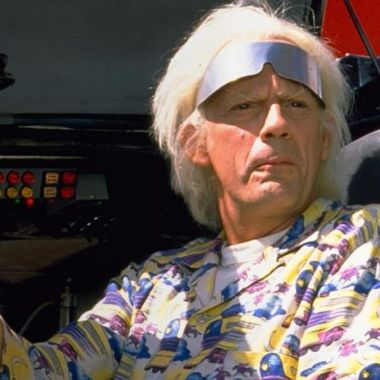 Christopher Lloyd será presentador de Expedition: Back to the Future