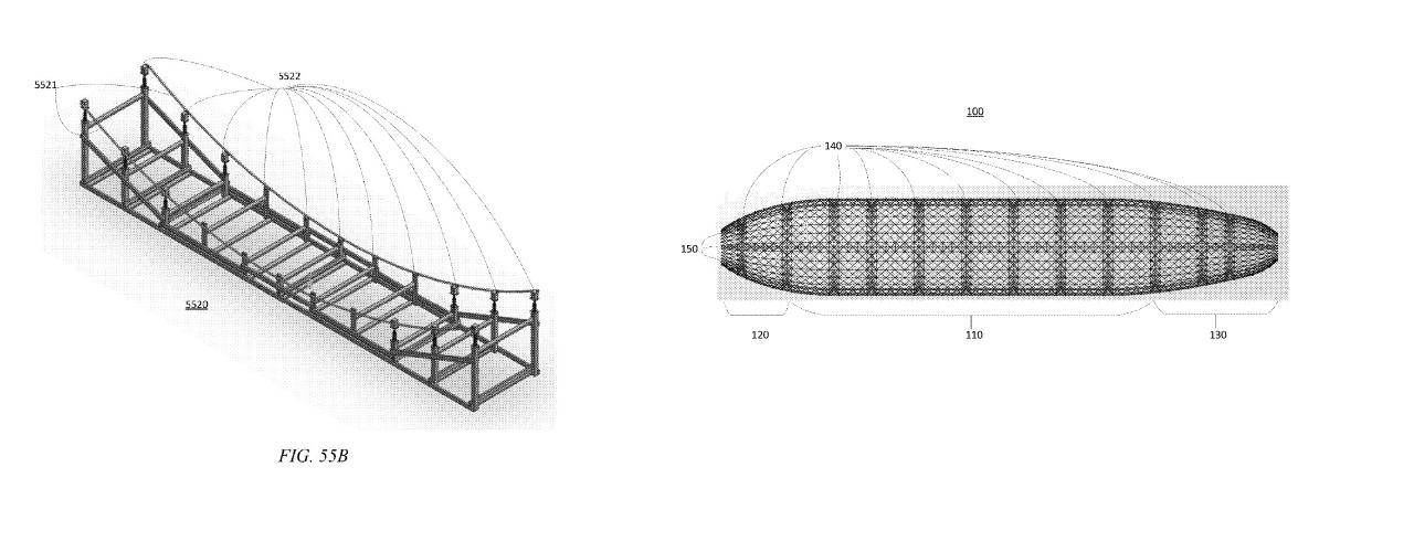 Cofundador de Google desarrolla su propio dirigible alimentado por hidrógeno