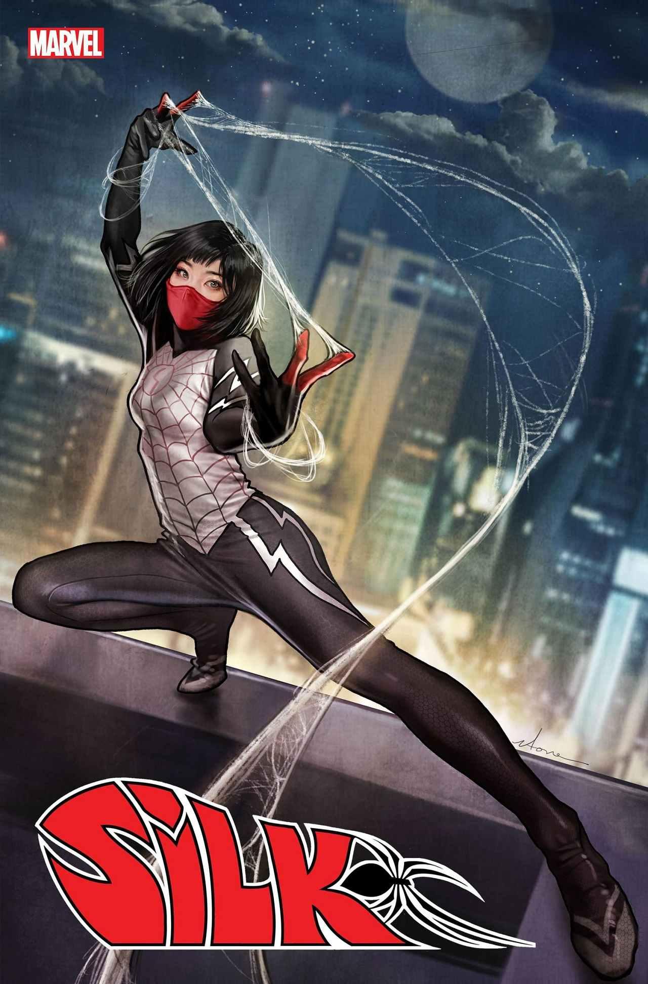 Silk Portada de Comic