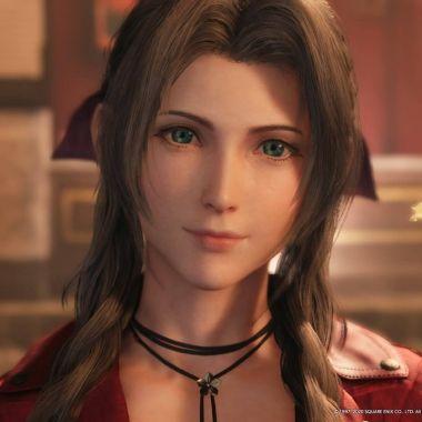 Aerith Final Fantasy 7 Remake Videojuego Square Enix