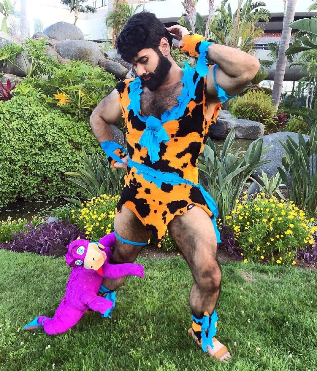 Cosplay Fred Flintstone Barryvgo Dino