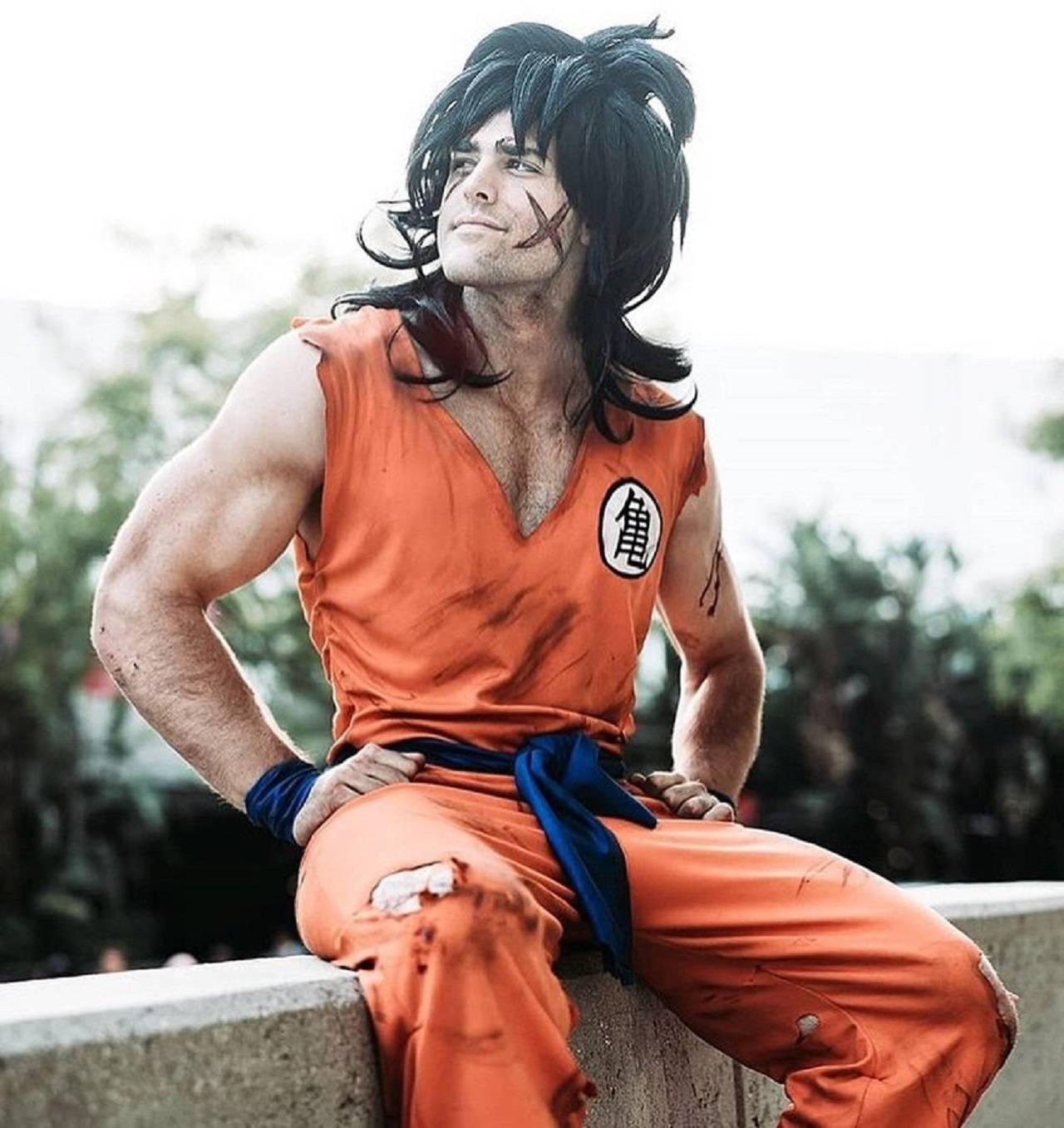 Cosplay Dragon Ball Yamcha Anime