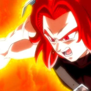 trunks xeno super saiyajion dios dragon ball heroes