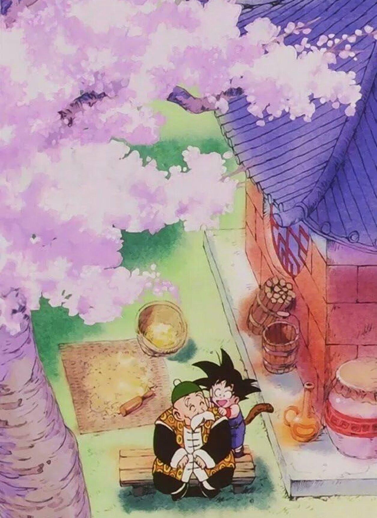 dragon ball goku son gohan muerte