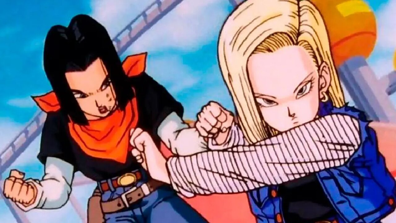 androides 17 y 18 dragon ball