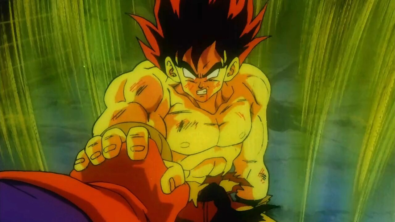 goku super saiyajin falso dragon ball