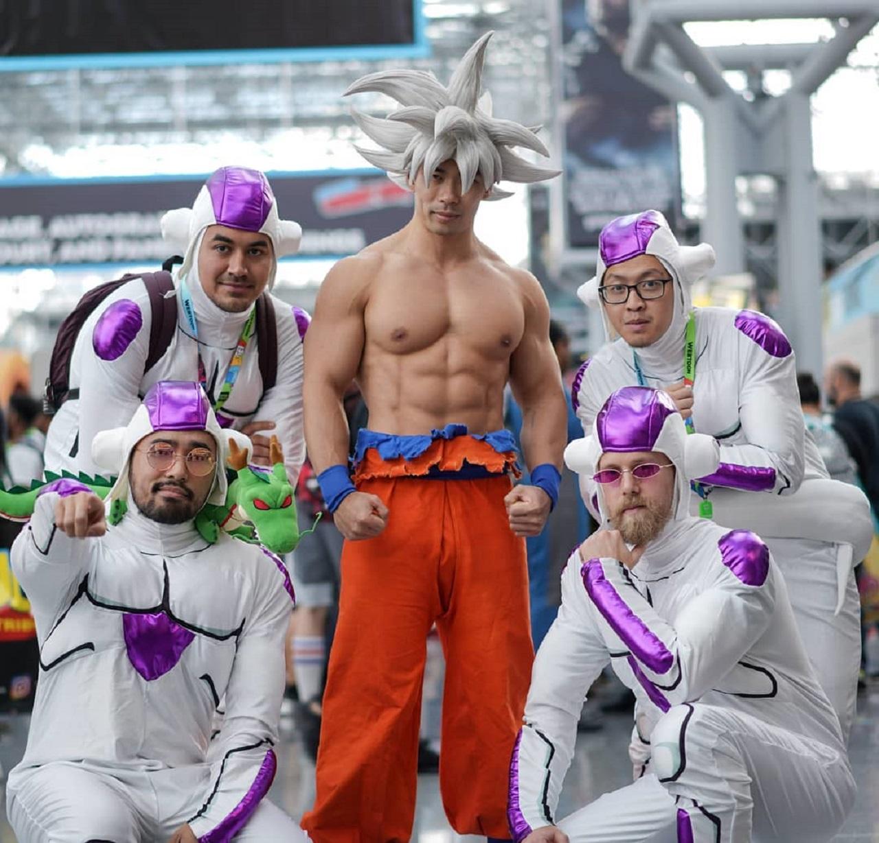 cosplay Goku Ultra Instinto Dragon Ball Super