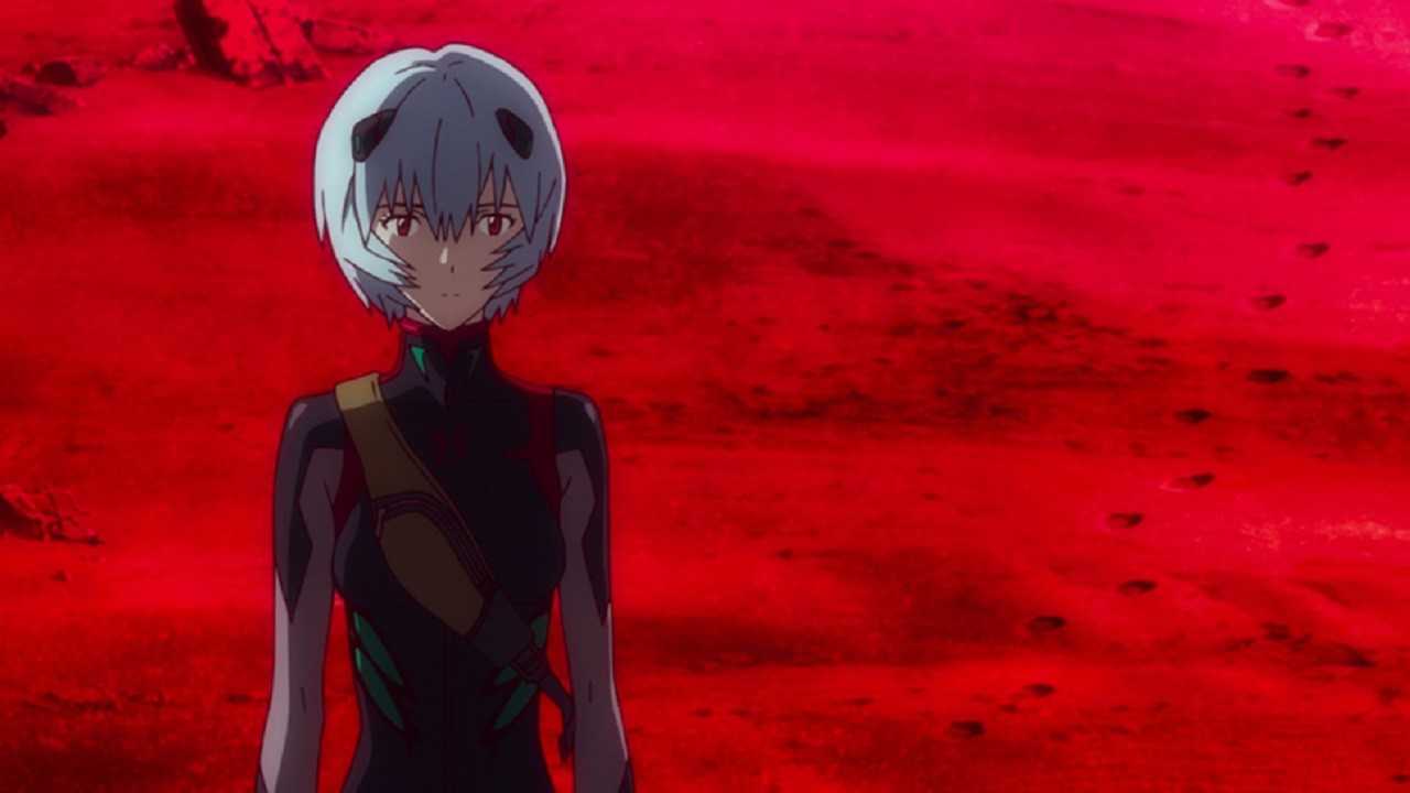 Rei Ayanami en Evangelion 3.0+1.0