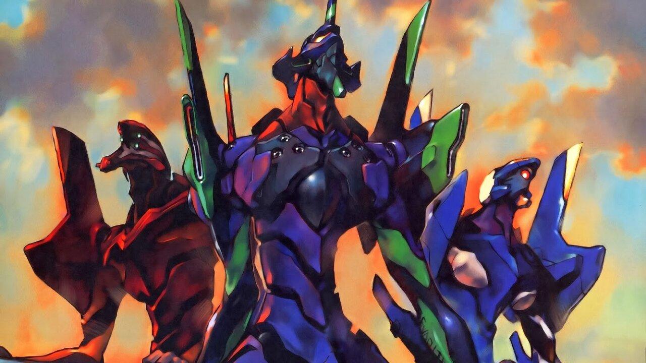 evangelion unidad robot más poderoso anime