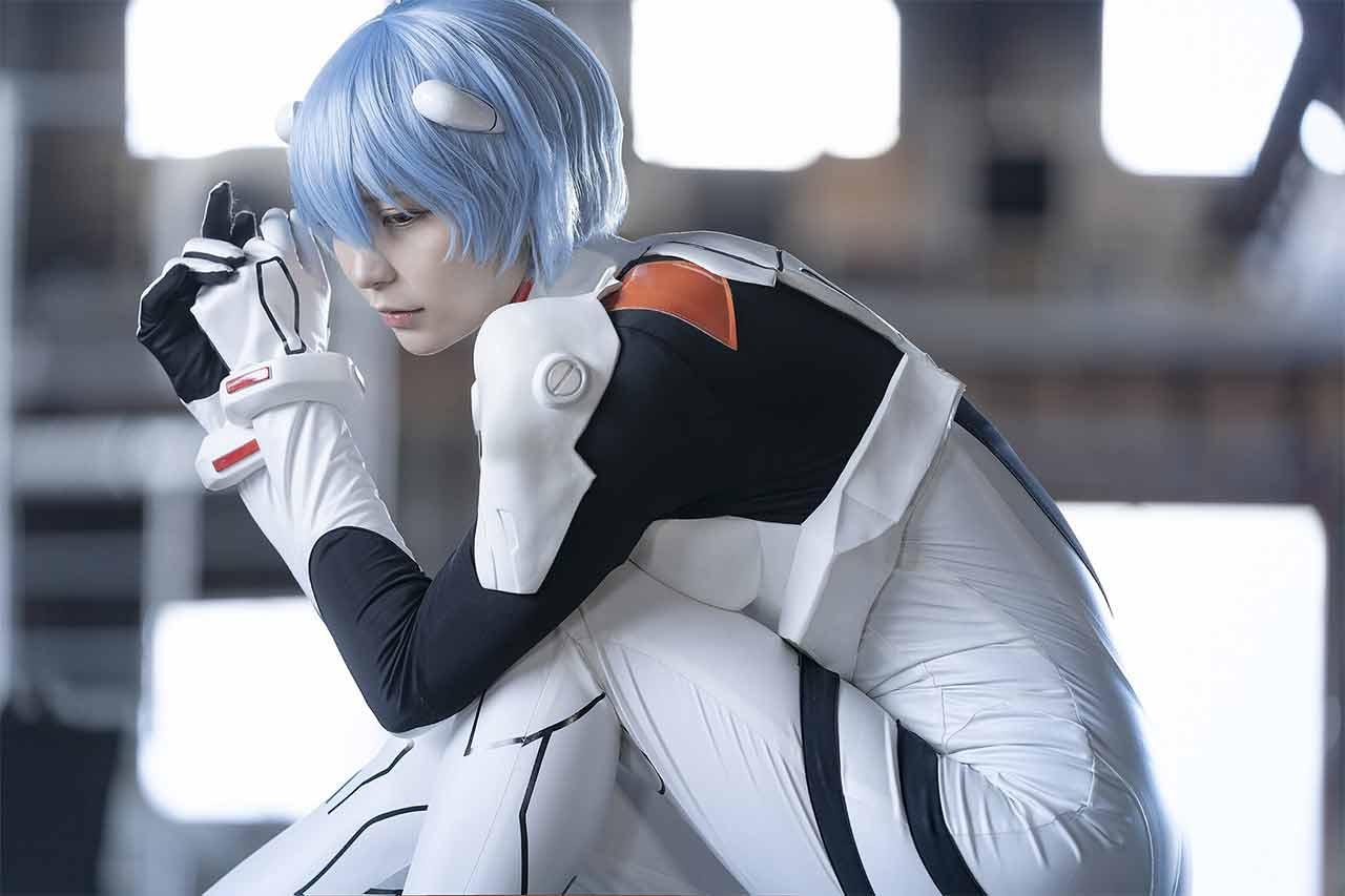 Rei Ayanami cosplay Neon Genesis Evangelion